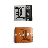 Wholesale HOT Anime Death Note L Wallet Purse Cosplay Accessory Bag Toy Gift