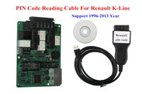Gratuit PIN port de lecture de code de programmation des touches Pour Renault K-Line (1996-2013 Année) Pin lecture de code Câble pour Renault