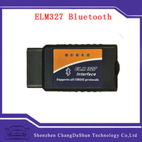 Wholesale 2015 Best Selling ELM327 Bluetooth OBDII OBD2 Car Diagnostic Tool for Universal Car Model with Original ARM Chip