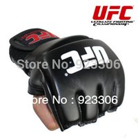 Wholesale MMA boxing gloves extension wrist leather MMA half fighting fighting Boxing Gloves pairs X28