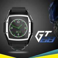 2,015 Hot GT68 Bluetooth montre Smart Watch d'Apple / Samsung IOS / Android Phone Support TF / GPS / Heart Rate Hommes Femmes Sport Montre