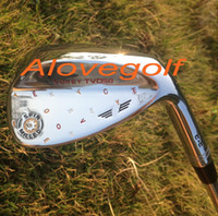 Wholesale Top quality golf wedges silver black colos TVD M C C degree custom wedges DHL ship golf clubs wedges