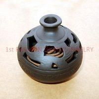 Wholesale Antique Ceramic Incense Burner Handmade Censer Sandalwood Furnace With a Free Incense Holder Home Decor