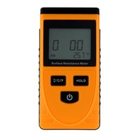ambient temperature measurement - Handheld LCD Display Surface Resistance Measuring Meter with Data Holding Ambient Temperature Measurement GM3110 order lt no track