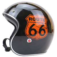 approved memory - USA style Route Memory Classic Design vintage motorcycle helmet capacete cascos motoqueiro helmets DOT Approved