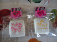 Wholesale cm hello kitty tofu squishy with tags