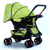 baby strollers china - China pushchair High Landscape Folding Baby Stroller Portable Light Weight Baby Carriage Umbrella Cart Travel Pram Pushchair