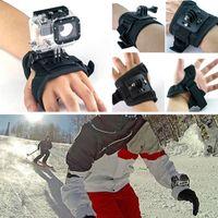 Wholesale Nylon Glove style Wrist Camera Band Mount Strap Bracket Accessories for GoPro Hero Camera