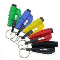 Wholesale Car Emergency Rescue Tool Window Glass Breaker Seat Belt Cutter Car Safety Car Knife Tool Glass Breaker Life Hammer fedex