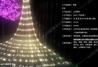 LED net light LED lights lampes flash Lampe imperméable à l'eau Net Light 10M * 8meters grande lumière de net de Noël