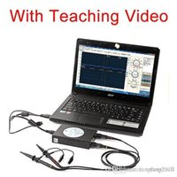 Wholesale SainSmart DDS140 Pro handheld digital oscilloscope USB MHz PC Based channel spectrum analyzer Digital Portable Oscilloscope