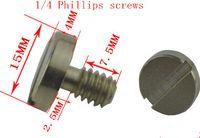 Wholesale Universal screw quick release plate SLR camera tripod head plate Accessories