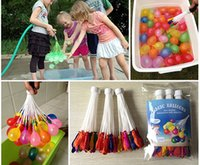 Wholesale Summer Bunch Balloons Colorful Water Magic balloons in bunch can fill per minutes Summer water game toys