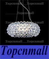 amber pendent - Foscarini Pendant Light Foscarini Caboche Chandelier Clear Transparent Amber Acrylic Ball Pendent Lamp Ceiling Lamp Hanging Light Restaurant