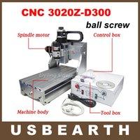 300X200X60mm mini desktop cnc router - mini desktop CNC router CNC Z D300 milling machine with ball screw and W spindle