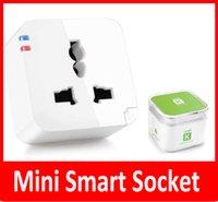 al por mayor electrical switch-Kankun K2 Smart Plug WiFi remoto del interruptor de control del zócalo del adaptador de energía sin hilos eléctricos mediante el uso de Smartphone APP 2015 Smart House ayudante