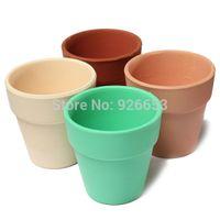 Wholesale Gardening Pottery Flower Pots Bonsai Planter Nursery Pots Garden Pots Balcony Ceramic Flowerpots Office Home Garden Supplies