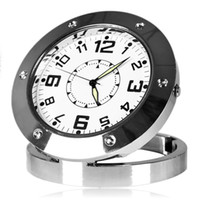 Wholesale Motion Activated Clock Spy Camera Video Security Alarm CLOCK Spy Camera Clock Watch DVR Camcorder Motion Detection