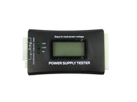 Wholesale Multifunction Digital LCD PC Computer PC LCD Power Supply Tester ATX BTX ITX TFX PIN SATA HDD Testers