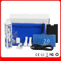 Wholesale 2015 Upgraded Snoop Dogg G Pro Kit mAH Battery with LCD LED Display Micro USB Charging G Pro V2 Vaporizer Pen Dry Herbal Ecigs
