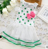 factory direct clothing - 2015 Real Tutu Summer A line Blue Clothing for Pregnant Pregnant Factory Direct Sale Entity Candy Color Bowknot Vest Veil of The Girls Dress