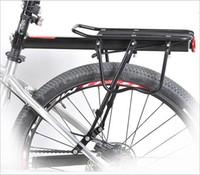 trailer hitch - 50kg Capacity Bike Racks Bike Luggage Bicycle Accessories Equipment Stand Footstock V Brake Disc Bicycle Kickstand Bicycle Rack