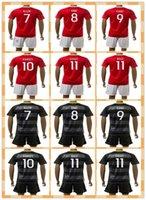 Wholesale Top Fast Uniforms Kit Wales RAMSEY BALE GIGGS ALLEN KING Red Yellow Black Soccer Jersey full Shirt futbol Jerseys