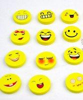 best face packs - set Smile Face Stationery Eraser Independent Packing cm For Best Gifts WD0300