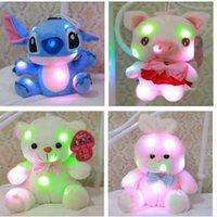Wholesale EMS Led Plush toys cm girls gift Stitch Dog
