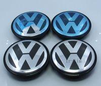 Wholesale 4PCS mm VW Volkswagen Wheel Hub Cap Emblem for VW Touareg Car LOGO L6601149 Car styling
