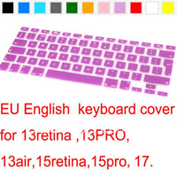 air arabia - Russian Spanish French Swedish German English Arabia Silicone US EU Keyboard Cover skin Protector For Macbook Air Pro quot quot FREE SHIP
