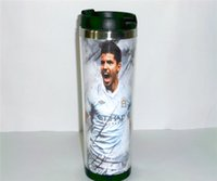 argentina travel - New Argentina Aguero Diy Creative Coffee Cup White Travel Water Cup Stainless Steel Cup ML CM
