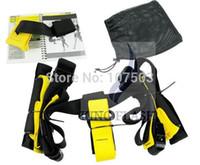 Wholesale 2014 Hot Sales Training Fitness Equipment Spring Exerciser Hanging Belt Resistance Belt Set