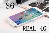 Wholesale 2015 S6 DUAL G LTE PHONE Bit Quad Core MTK6735 S6 G9200 smartphone G GB GB DUAL GHz MP G cellphone