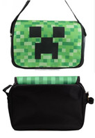 Creeper Minecraft Flight Messenger Shoulder Bag 13