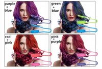 Wholesale New clip Colors Chalk Hair Temporary Chalk Hair Color Dye Pastel Chalk Bug Rub Hair Colors