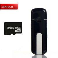 Wholesale Mini U8 USB DISK HD DVR Spy HIDDEN Pinhole Camera Motion Detector Video Recorder