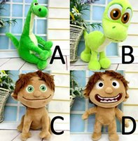 Unisex baby soft spot - PrettyBaby Movie The Good Dinosaur Spot Dinosaur Arlo Plush Doll Stuffed Toy CM For Baby Child in stock