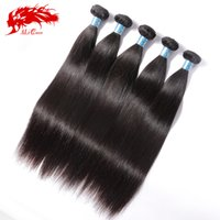 Natural Color 95g-100g Straight Ali Queen Hair Products Peruvian Virgin Hair Straight Free Shipping Unprocessed Cheap Virgin Peruvian Straight 5 pieces Lot
