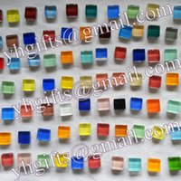 Wholesale 850PCS Gram Mosaic tile Scramble tiles DIY accessories Craft material Home decoration x1x0 cm Freeshipping