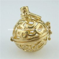 abc party - ABC Letter Rose gold plated Locket Ball Cage Box Fragrance Aromatherapy Essential Oil Diffuser