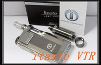 Cheap 100% Original Innokin iTaste VTR E Cig Variable Voltage Wattage LED Screen Battery Mod With iClear 30S Dual Coil Atomizer Gift Package