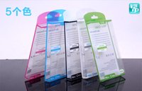 Wholesale High grade PVC Cellphone Packages Transparent Plastic cellphone boxes for iphone4S C S Samsung Galaxy S3 S4 Note2