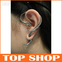 Wholesale Snake Womens Earrings Serpentine Stud Alloy Halloween Valentine s Day Halloween Easter Chirstmas Thanksgiving Day Ear Hook Ear Cuff ZB0014
