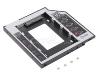 Wholesale HDD Enclosure mm Universal SATA nd HDD SSD Hard Drive Caddy for CD DVD ROM Optical Bay YKS