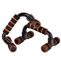 Wholesale 2 Pieces Pair High Strength Push Up Bar Body Building Fitness Equipments Home Gym Muscle Training Tools cm Portable