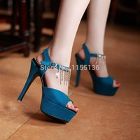 Wholesale Fashion women high heels European style Ladies sexy office shoes women s silver sandals gold high heels platform shoes