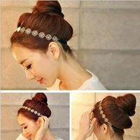 Wholesale New Vintage Beauty Rose Headbands Fashion Flower Hairbands Hair Accessories