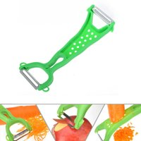 Wholesale Wholesales Stainless Steel Graters Kitchen Paring Knife Slicer Gadget Vegetable Fruit Turnip Carrot Peeler Cooking Tools JE0195 salebags
