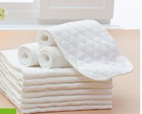 Wholesale 20 Layer Pure Cotton Newborns Diapers Soft Store Water Comfortable Baby Diaper